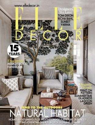 Elle Decor India Magazine April May 2016 Issue Get