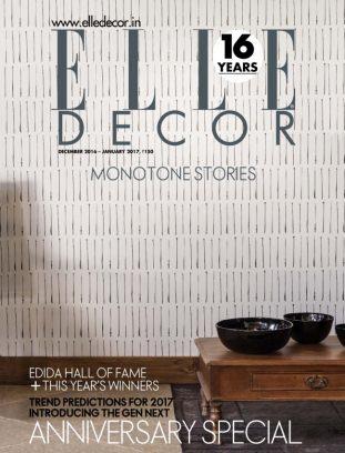 elle decor india magazine december 2016 january 2017 issue get your digital copy - Elle Decor Magazine