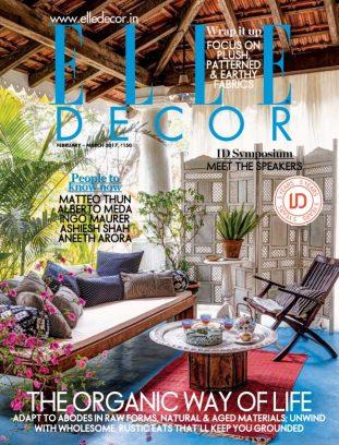 Elle Decor India Magazine February March 2017 Issue