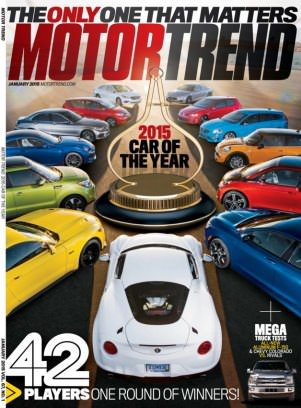 Motor Trend Magazine January 2015 Issue Get Your Digital