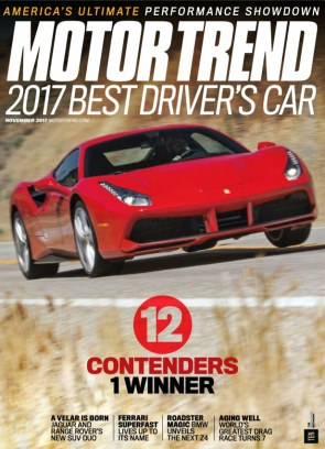 Motor Trend Magazine November 2017 Issue Get Your