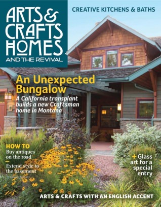 Arts and crafts homes magazine spring 2016 issue get Arts and crafts home magazine