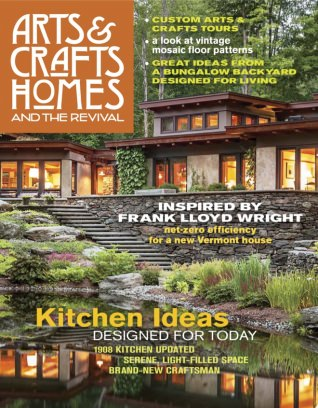Arts and crafts homes magazine spring 2017 issue get for Arts and crafts home magazine
