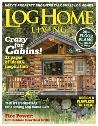 teton design home archive cabins publications builders log ideas heritage magazine cabin