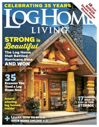 Log home living magazine get your digital subscription for Log home magazines