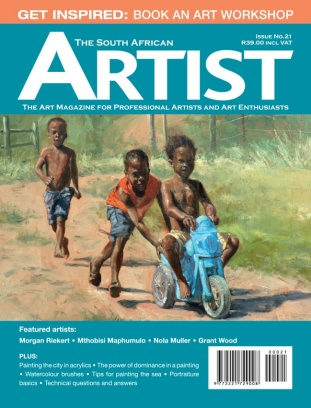 The South African Artist Magazine Issue 21 Issue Get