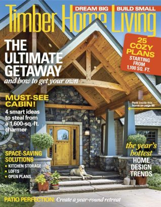 timber home living magazine may june 2017 issue get your digital copy. Black Bedroom Furniture Sets. Home Design Ideas