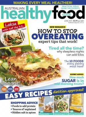 Healthy food guide magazine june 2015 issue get your digital copy forumfinder Images