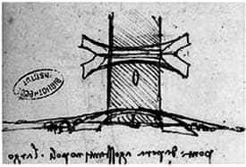 दा विंची द्वारा डिज़ाइन किया गया सबसे लंबा पुल