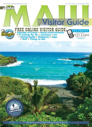aloha maui visitor guide magazine november 2017 issue get your digital copy. Black Bedroom Furniture Sets. Home Design Ideas