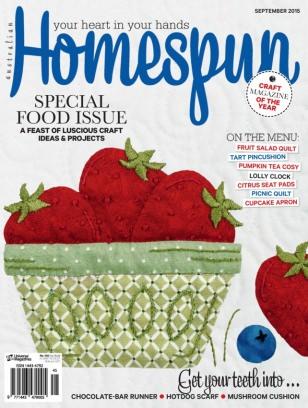 Amigurumi Magazine Subscription : Homespun Magazine September 2015 issue Get your digital copy