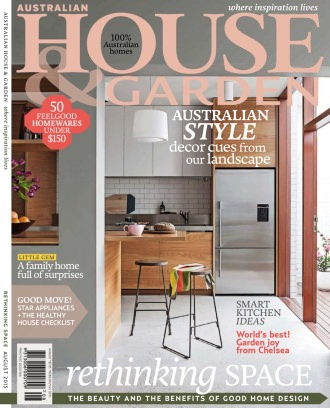 Australian House amp Garden Magazine August 2015 issue Get