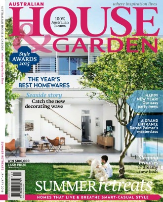 Australian House amp Garden Magazine January 2016 issue Get
