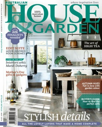 australian house garden magazine may 2016 issue get your digital copy - House And Garden Magzine