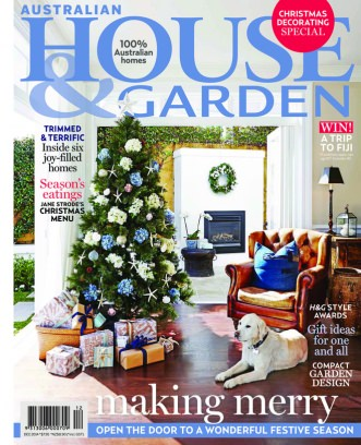 Australian House amp Garden Magazine December 2014 issue Get
