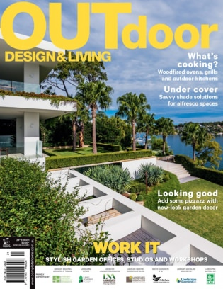Outdoor design living magazine issue 34 2016 issue get for Outdoor living magazine