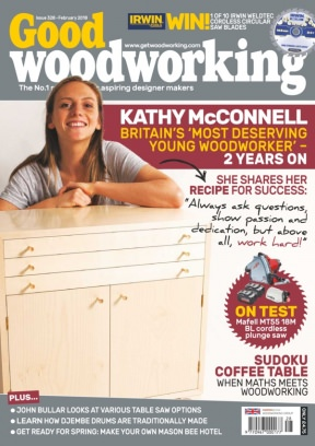 Good Woodworking Magazine February 2018 Issue Get Your Digital Copy