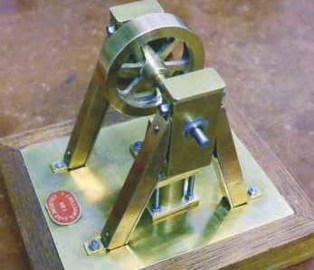 An Inverted Ross Yoke Watercooled Stirling Engine