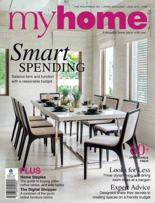 MyHome Magazine June 2015 Smart Spending Issue Get Your Digital Copy