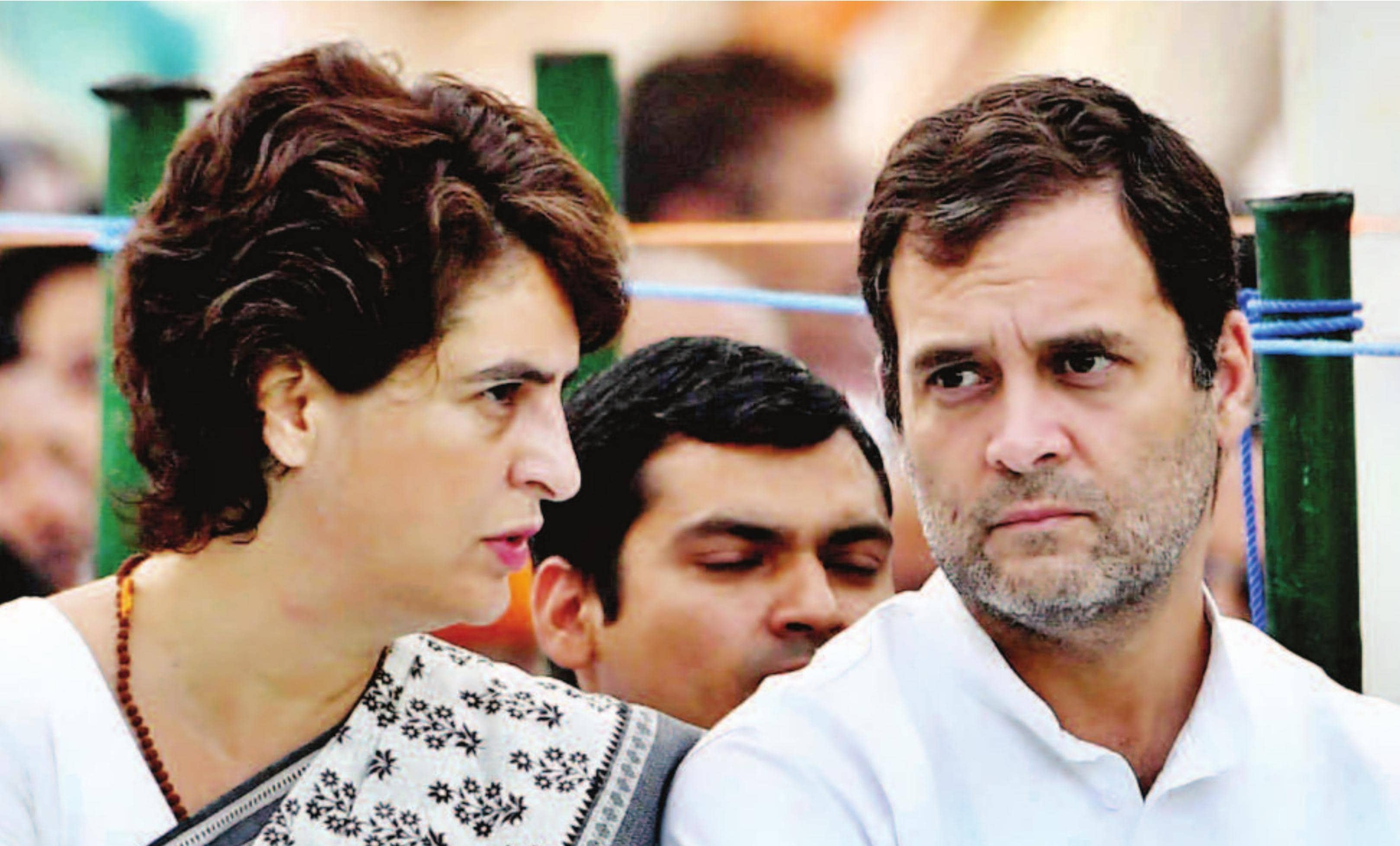 यूपी में राहुल की नाकामयाबी के दाग धोती प्रियंका