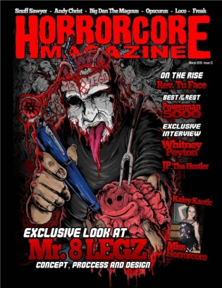 Horrorcore magazine issue 13 creative power issue get for Powers bureau issue 13