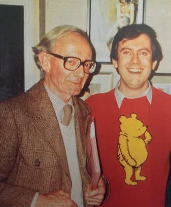 Christopher Robin did adore his bear