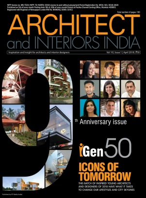 Architect And Interiors India Magazine April 2018 Issue Get Your Digital Copy