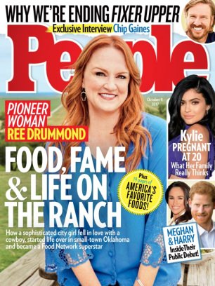 drummond magazine ree pioneer woman ranch october party food she ladd covers orange county cookbook issue housewives before reveals mail