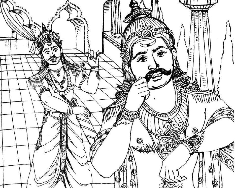 கந்த புராணமும் கம்ப ராமாயணமும் ஒப்பீடு
