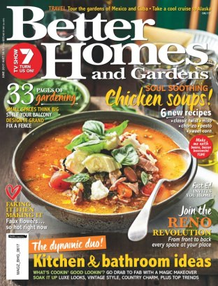 Better Homes Gardens Australia Magazine June 2017 Issue