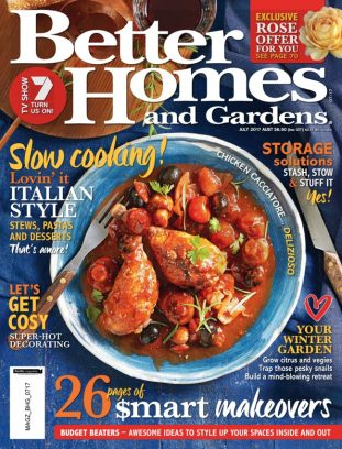 Better Homes Gardens Australia Magazine July 2017 Issue