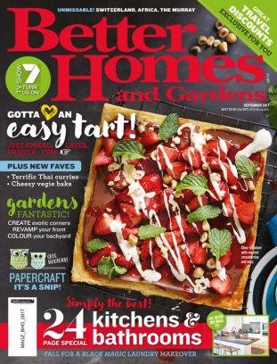 Better Homes U0026amp; Gardens Australia Magazine September 2017 Issue U2013 Get  Your Digital Copy
