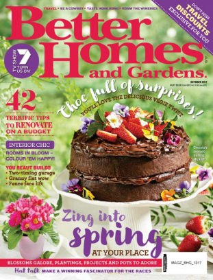 Better Homes Gardens Australia Magazine October 2017