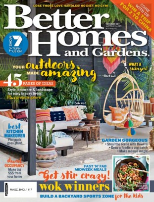 Better homes gardens australia magazine november 2017 Bhg australia
