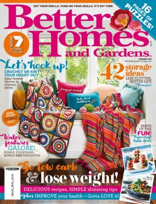 Better homes gardens australia magazine february 2018 Better homes and gardens current issue