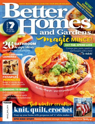 Better homes gardens australia magazine june 2018 issue Better homes and gardens current issue