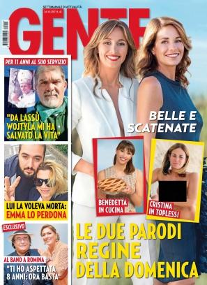 Gente italia magazine october 24 2017 issue get your for Hearst magazines italia stage