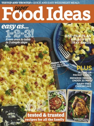 Super food ideas magazine may 2017 issue get your digital copy forumfinder Images