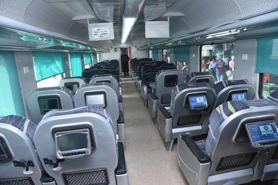 Pune-Secunderabad Shatabdi Is Cleanest