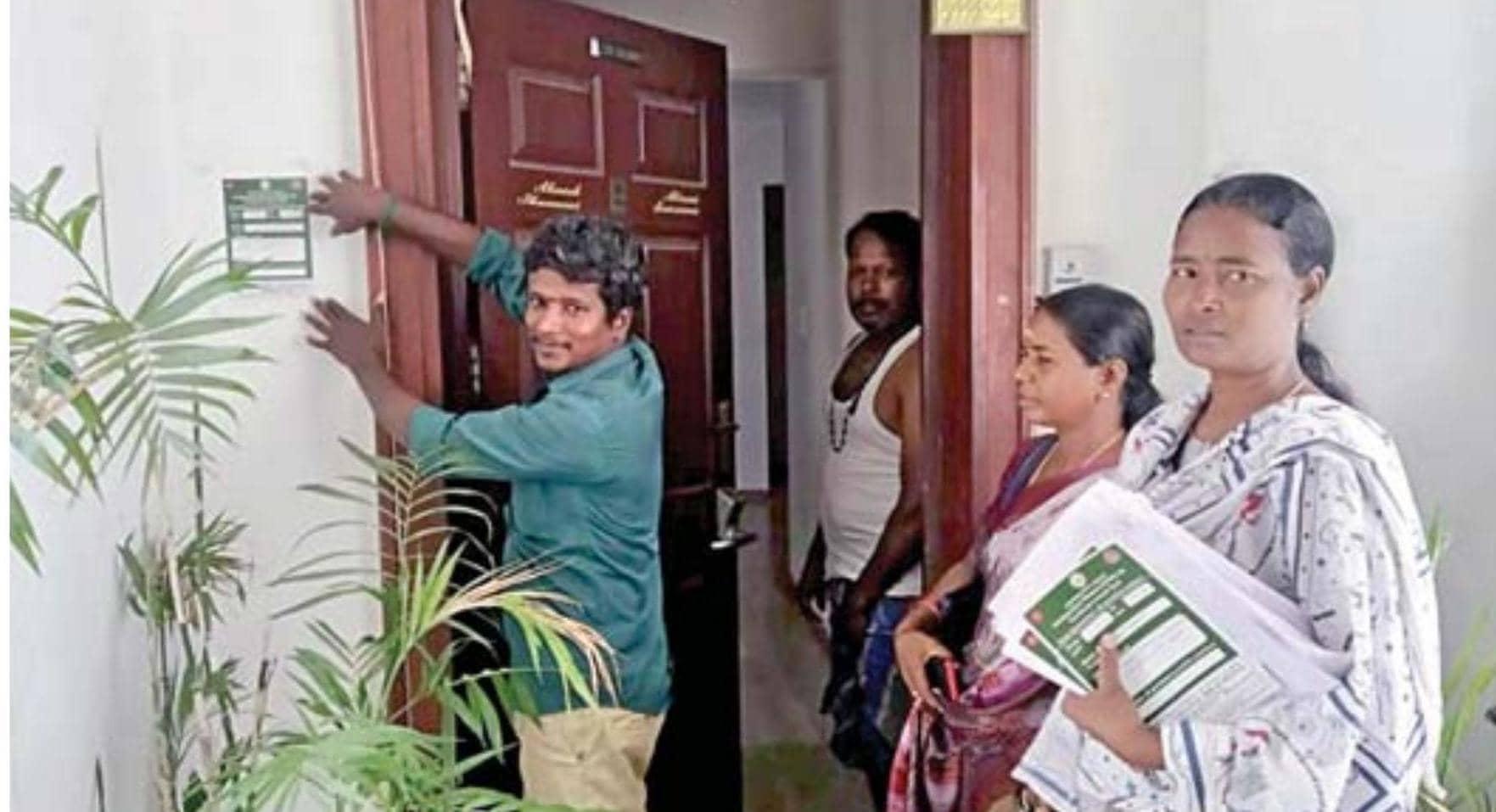 வெளிநாடுகளில் இருந்து வந்த செங்கல்பட்டு மாவட்டத்தினர் 193 பேர் கையில் முத்திரை குத்தப்பட்டு கண்காணிப்பு