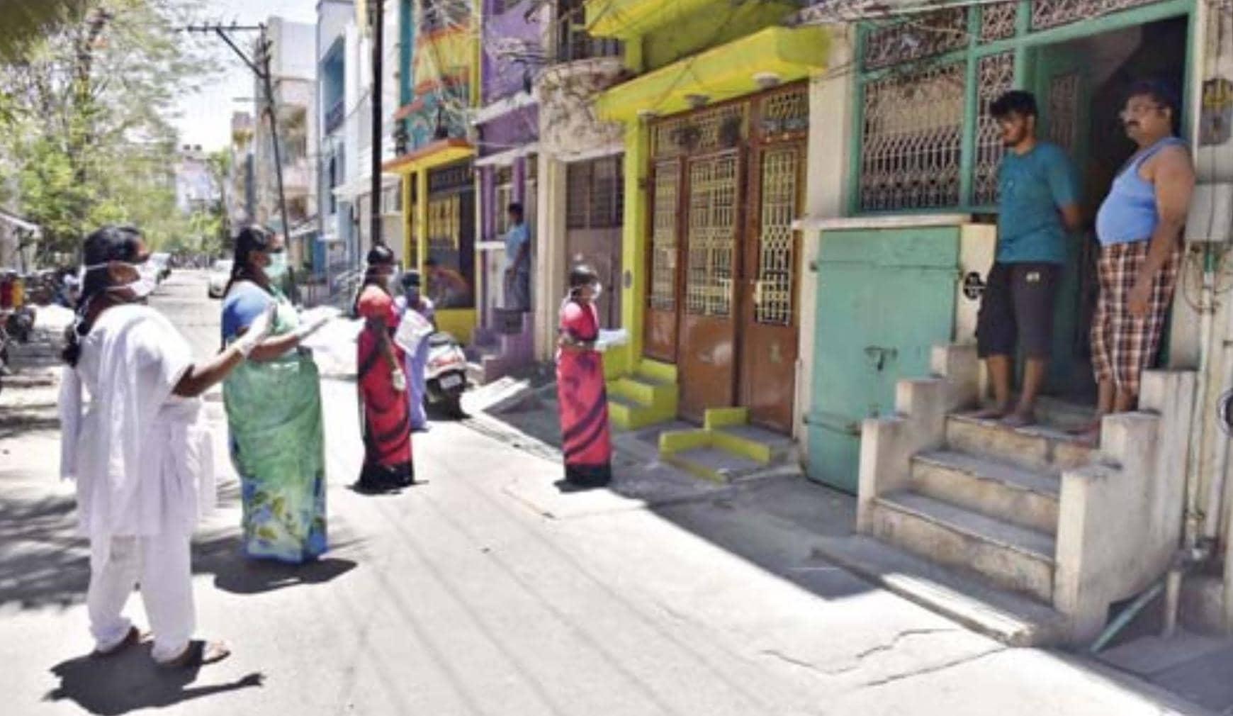 கரோனா வைரஸ் பாதிப்பு குறித்து சேலத்தில் 25,000 வீடுகளில் பரிசோதனை