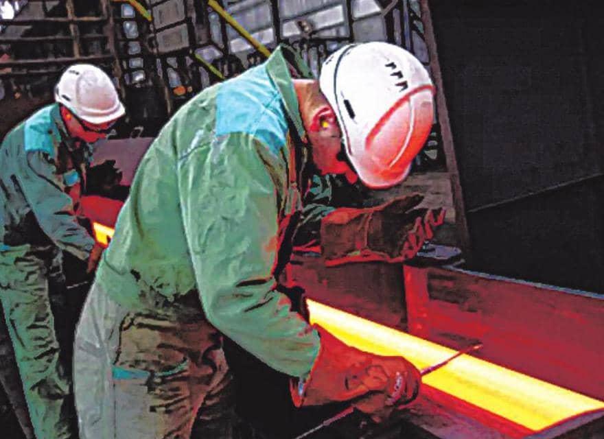 औद्योगिक उत्पादन 10.4% गिरा