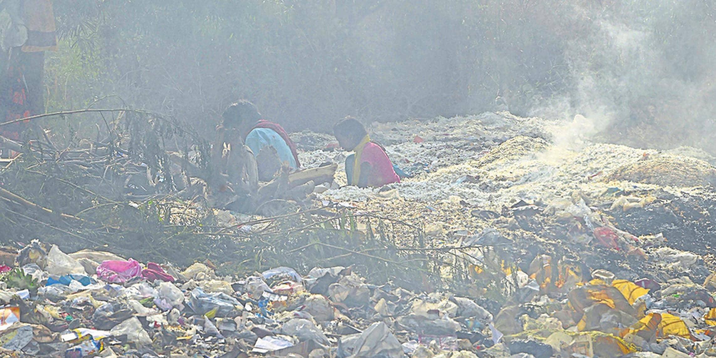 परेशानी : कम बारिश और पराली से बढ़ा प्रदूषण