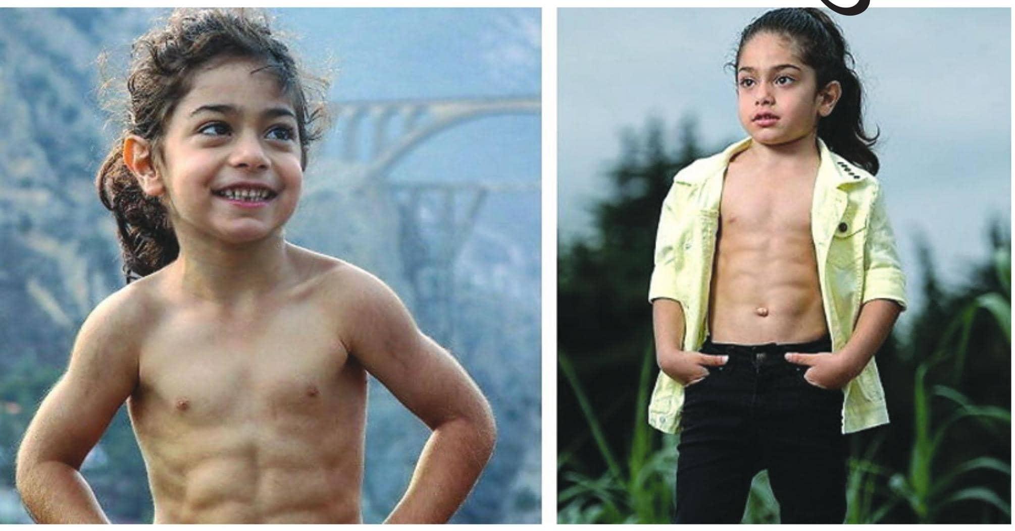 છ વર્ષની ઉંમરમાં સિક્સ પેક એબ બનાવનાર ઈરાનના આરતને હવે મેસીની જેમ રમવું છે