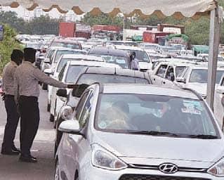 दिल्ली की सीमा एक और हफ्ते तक सील रहेगी