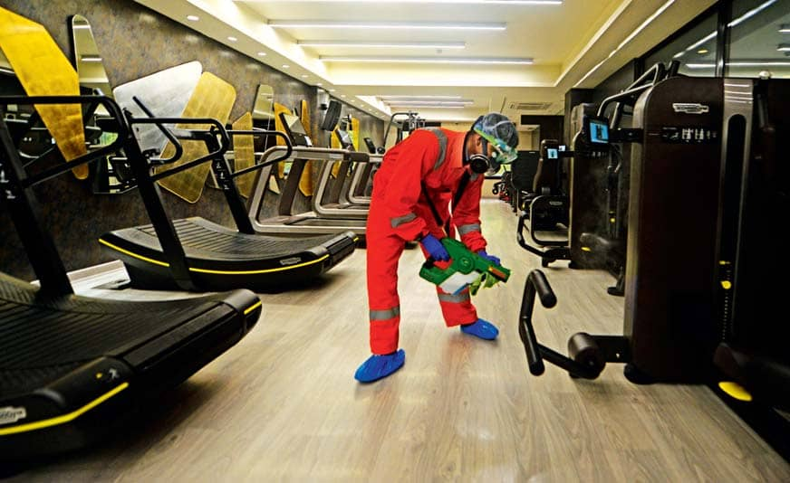 Fit Enough To Reopen? City Gyms & Yoga Hubs Sweat It Out