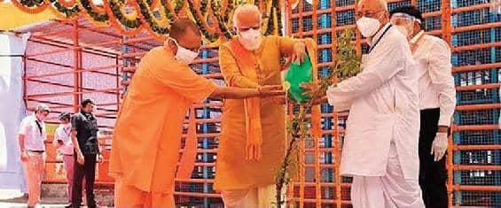 நமது கலாச்சாரத்தின் சமகால அடையாளமாக ராமர் கோயில் விளங்கும்