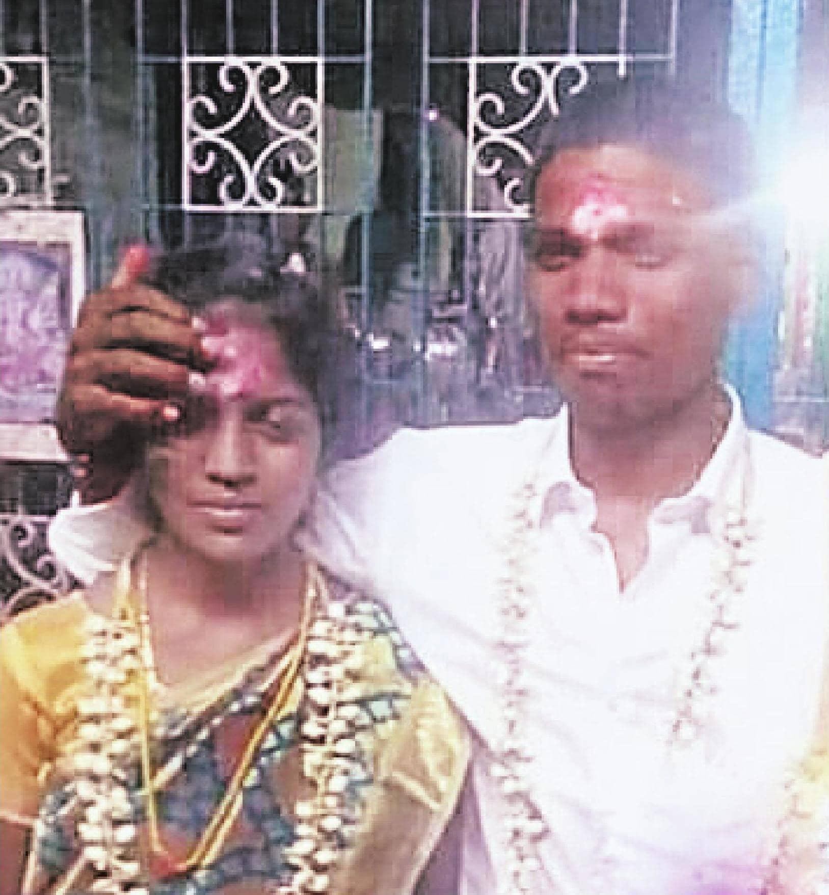 விவசாயியை விரும்பி கரம் பிடித்த பட்டதாரி