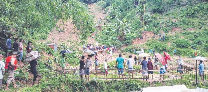 असम में भूरखलन से 21 लोगों की मौत