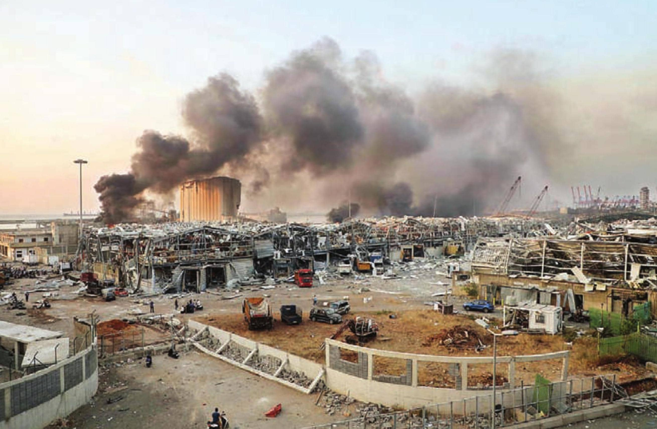 बेरुत विस्फोट : 100 से अधिक की मौत, 4000 से ज्यादा हो सकती है घायलों की संख्या